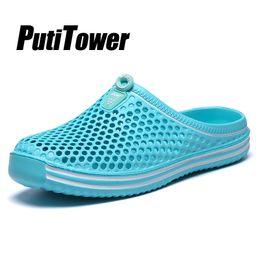 Eva clog shoE online shopping - Plus Size Women Slippers Soft Beach Shoes Man Water Sandal Summer Outdoor Garden Clogs croc Zapatos Mujer Zapatillas