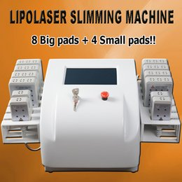 Discount weight loss machines for home use - Lipo slim laser weight loss cellulite equipment slim shapping machine lipolaser fat removal equipment with 12 pads for h