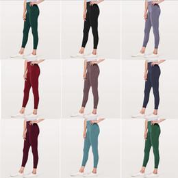 $enCountryForm.capitalKeyWord Australia - Women Skinny Leggings Sports Gym Yoga Pants High Waist Workout Tight Yoga Leggings Clothing 9 Colors