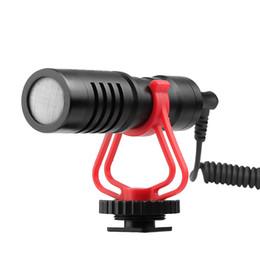 $enCountryForm.capitalKeyWord Australia - Cardioid Directional Video Condenser Microphone Mini 3.5mm Plug for Canon Nikon Sony DSLR ILDC Cameras Camcorders Smartphones