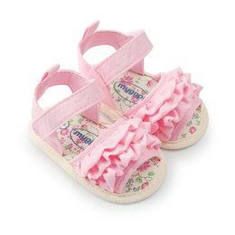 $enCountryForm.capitalKeyWord Australia - Baby Girl Sandals Summer Baby Girl Shoes Cotton Canvas Plaid Sandals Newborn Shoes Playtoday Beach