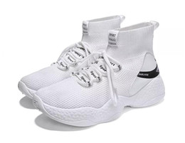 Best Fashion Sneakers Australia - 2019 Best selling Fashion Trend men casual shoes Breathable Mesh high-top sneakers mens Designer comfort Hip-hop jogging Sport Walking Shoes