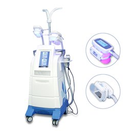 Wholesale Multi functional cavitation rf Zeltiq Cryolipolysis Body sculpting machine with wooden package two colors for choice