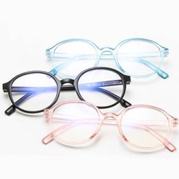 0571842222d 2019 Fashion Glasses Women Men Vintage Round Clear Glasses Optical Eyeglasses  Frame Transparent Lens Spectacle Frame Unisex