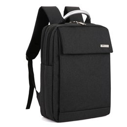 Large Backpacks For Men NZ - Fashion Men Backpack For 15 Inch Laptop Canvas Backpack Large Capacity Business Bags Mochilas Male Water Repellent Backpacks