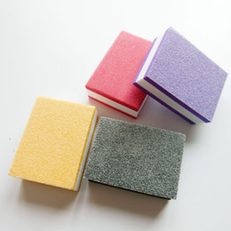 $enCountryForm.capitalKeyWord Australia - 100 pcs random colour mini nail buffer block sponge block disposable nail file 100 180 mini buffer file manicure tool