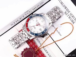 Movement Rings Australia - Men luxury seahorse 007 series 210.20.42.20.03.002.Men's automatic watch.Sapphire mirror.Ceramic ring.8215 movement.3 a quality