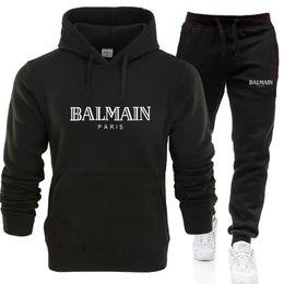 Blamain designers set sweatsuit Tracksuit Men hoodies pants Mens Clothing Sweatshirt Pullover women Casual Tennis Sport Tracksuit Sweat Suit on Sale