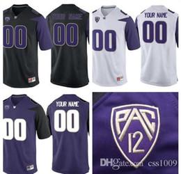 $enCountryForm.capitalKeyWord Australia - Custom Mens Washington Huskies College Football Limited Black Purple White Personalized Stitched Any Name Number #3 #1 #28 #88 Jerseys