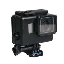 dive housing UK - Underwater Waterproof Case for GoPro Hero 6 5 7 Black Diving Protective Cover Housing Mount for Go Pro 6 5 7 Accessory