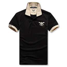 Tshirt Polos Australia - Mens Classic Polo Shirts T-shirt Hot Sale Summer Loose Tees Mens Short Sleeve Embroidery Polos Tees High Quality Tshirt Plus-size M-2XL