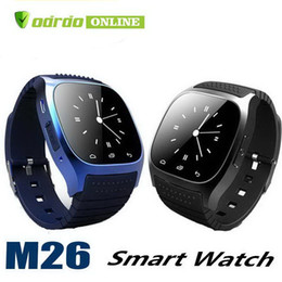 $enCountryForm.capitalKeyWord Australia - Smartwatch M26 Bluetooth Wireless Wearable Device Smart Watch Sport Watch For Samsung Note 7 Universal Android Cellphone with Retail Box