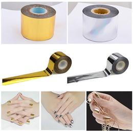 Silver Nail Tape Australia - 2019 Hot Sale 1PC New Creative Design Gold   Silver Starry Sky Nail Tape 4 Cm * 120 M Nail Art Silver Transfer Sticker