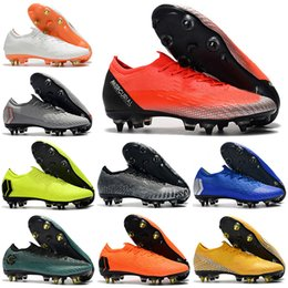 cr7 new soccer boots 2019 - New Mens Low Ankle Football Boots Always Forward Mercurial Vapors XII Elite SG Soccer Shoes Neymar Superfly Vapors VII 3