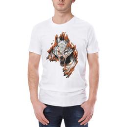 Tshirt Men Graphic Australia - Casual Graphic Tshirt Men Clothes 2019 Funny Animal Print O-neck Short Sleeve T Shirts For Men Spring Summer Fashion