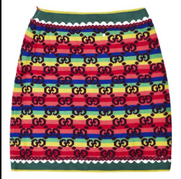 Sh Fashion UK - 128 2019 Spring Brand Same Style Short Skirt Womens Clothes Empire Kints Fashion Propm Luxury Above Knee SH
