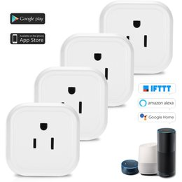 Power Wireless Remote Control Switch Socket Australia - Smart Wifi Socket Switch US Plug Wireless Home Switch Power Sockets Remote Control for Smartphone Android IOS Alexa Google TP-Link IFTTT