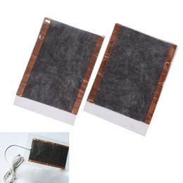 $enCountryForm.capitalKeyWord Australia - 2pcs Portable DIY USB Heating Heater Winter Warmer Plate for Shoes Gloves Mouse Pad