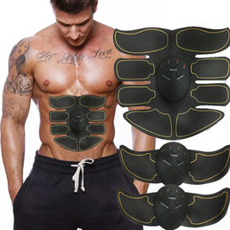 Électrique EMS Muscle Stimulator abs Muscle abdominal Toner Body Fitness Mise en forme massage Patch Siliming Entraîneur exerciseur unisexe