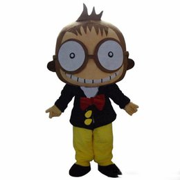 Wholesale monkey cartoon mascot for sale – halloween 2019 Hot sale Big Mouth Monkey Mascot Costume Cartoon Costume