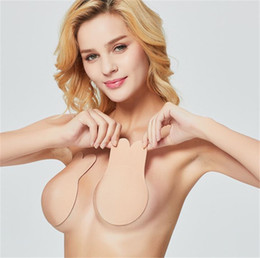 4ac5ad6755dc1 New Breathable Lifting Chest Sticking Push Up Bra Sticking Anti-sagging  Invisible Silicone Bra Stickers For Party Wedding Dress