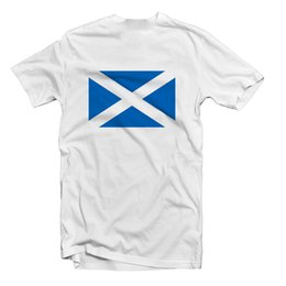 Wholesale SCOTLAND SALTIRE FLAG T SHIRT TEE MENS WOMENS KIDS Funny Unisex Casual