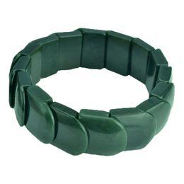 $enCountryForm.capitalKeyWord UK - Fine Jewelry Natural Green Jade Hand Carved Elegant Fashion Natural Greenjade Bracelet Bangle Hand Catenary Free Shipping