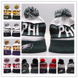 f1331906 new fashion winter Beanie 2019 Knitted Hats All 32 Teams l football beanies  sports team Women Men popular fashion winter hat mixed order