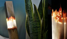 $enCountryForm.capitalKeyWord NZ - Cryatal solid wood table lamp resin wooden gem lighting cool design high-end interior home decor gallery epoxy furniture luxury