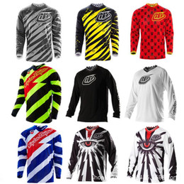 Orange bikes t shirt online shopping - Tld speed drop suit t shirt mountain bike off road motorcycle racing suit bicycle cycling suit summer long sleeve