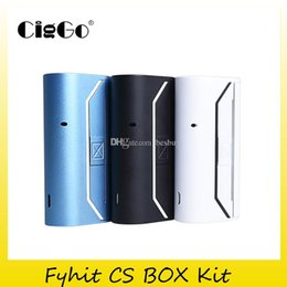 $enCountryForm.capitalKeyWord Australia - Authentic CigGo Herbstick Fyhit CS Box Kit With 2200mAh Battery Dry Herb vaporizer Ceramic Hearter Stable Heating Kits 100% Original 2248011