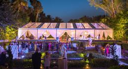 c78a37a26 20 x 20 grandes pvc blanco al aire libre boda tienda comercial del partido  A Frame Waterproof