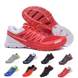 Mens grounding shoes online shopping - New Salomon S Lab Sense Ultra Runner Soft Ground Mens Fashion Running Shoes Top Quality Sports Outdoor Jogging Athletic Shoe