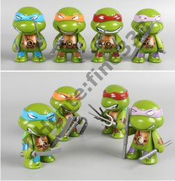 Turtles Figures Australia - Action Figures Turtles Leo,Raph,Mike,Don Turtle Toy Figure Decoration Doll Toys Kids Toys Game Figures