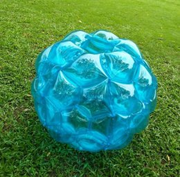 $enCountryForm.capitalKeyWord UK - 60cm Inflatable Body Bumper Ball PVC Air Bubble balls Outdoor Zorb Ball Kids Game Bubble Buffer Balls Outdoor Activity kids toy