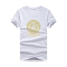 $enCountryForm.capitalKeyWord Australia - 2019 mens cotton T-shirt in a variety of colors.Head pattern hot stamping color letter printing, fashion trend, sports and leisure style