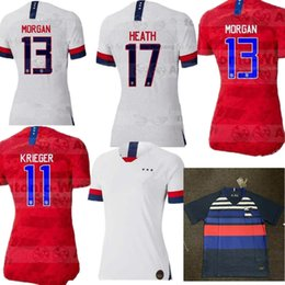 353ad2600 Women World cup 2019 America girl Soccer Jersey men United States home away  Football Shirt USA women 3 star LLOYD RIPINOE KRIEGER Camiseta