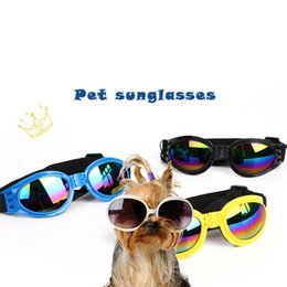 Water Proof Coatings Australia - New Attractive Pet Dog Sunglasses Sun Glasses Goggles Eye Wear Protection Dress Up Multi-Color Water-Proof Boom Cool Pet glasses