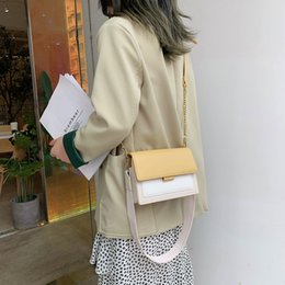 $enCountryForm.capitalKeyWord Australia - Elegant Women Handbag Flip Small Square Bag 2019 Fashion Quality PU Leather Designer Women's Bag Casual Shoulder Messenger