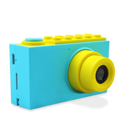 Chinese  Cute Mini 2inch Kids Digital Camera Cartoon 800P SLR Video Recorder Camera Toys for Boy Girl Children Birthday New Year Gifts manufacturers