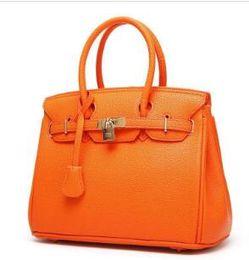 New H # Mulheres Totes Moda PU bolsas de couro e bolsas Big Bags Cruz Lichia Corpo Padrão Shoulder Bolsa de alta qualidade bolsas de lona venda por atacado