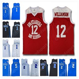 $enCountryForm.capitalKeyWord Australia - SPARTANBURG DAY SCHOOL DUKE COLLEGE Stitched Blue Evil Zion Williamson R.J. Barrett Bagley III Reddish IRVING INGRAM PARKER SHIRTS Jerseys