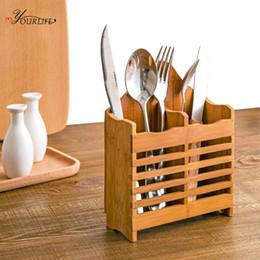 $enCountryForm.capitalKeyWord Australia - wholesale 1pc Creative Multifunction Kitchen Storage Rack Chopstick Spoon Fork Tableware Knife Organize Holder Draining