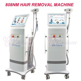 Hair cooler online shopping - 2019 nm diode laser Ice laser hair removal machine cooling diode laser nm spa beauty salon use