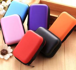 Travel Flash Drive Australia - Travel Digital USB Storage Cable Earphone Organizer Bag Case Insert Flash Drives