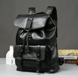 $enCountryForm.capitalKeyWord Australia - wholesale brand fashion leather backpack bag, student bag of large capacity wind all-match simple computer bag leather comfort Backpack