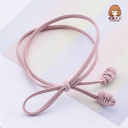 Articles Hair Australia - 4pcs lot Han Version Is Contracted Concise Modelling Double Band Sends A Circle To Tie A Hair To Act The Role Article Headdress
