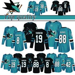 Joe thornton Jerseys online shopping - Top quality San Jose Sharks Hockey Jersey Brent Burns Joe Pavelski Joe Thornton Joel Ward Jerseys Top quality