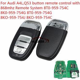 $enCountryForm.capitalKeyWord NZ - For Audi A4L, Q5 3 button remote key with 868Mhz and 7945 Chip Model: 8TO-959-754C 8TO-959-754G 8KO-959-754G 8KO-959-754J 8KO-959-754C