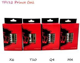 $enCountryForm.capitalKeyWord NZ - Wholesale TFV12 Prince Coil V12 Prince Q4 X6 M4 T10 Mesh 0.15ohm Vape Core Atomizer Heads for TFV12 Prince Free Shipping